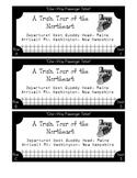 Train Ticket Scrapbook Souvenir for NE Tour