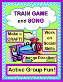 """Train Game!"" - Group Game, Song and Craft"