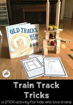 Train Track Tricks {a STEM activity for kids who love trains}