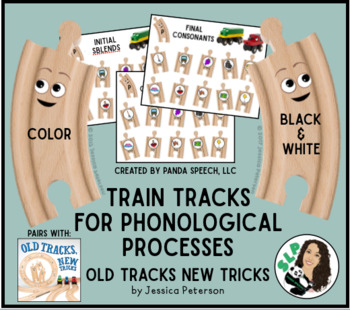 Train Tracks for Phonological Processing Toy Companion