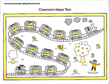 Train Transportation - Helper Chart and Activities
