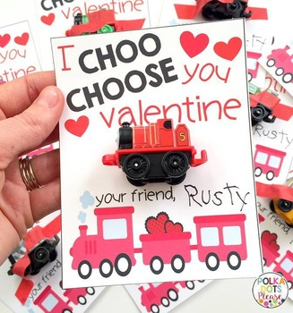 Train Valentine's Day Printables