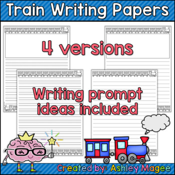 Train Writing Papers with Prompt Ideas - Supplement to Old Tracks, New Tricks
