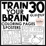 Train Your Brain Coloring Pages & Posters