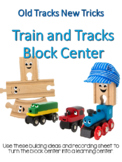 """Train and Track Block Center- """"Old Tracks, New Tricks"""" - Extended (Polar Express"""