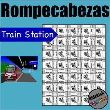 Train and train station vocab Puzzle