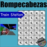 Train and train station vocab Puzzle
