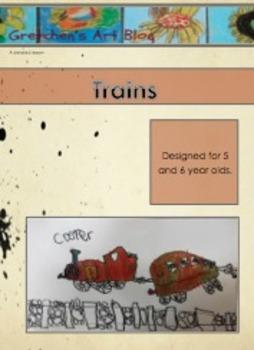 Train Art Lesson