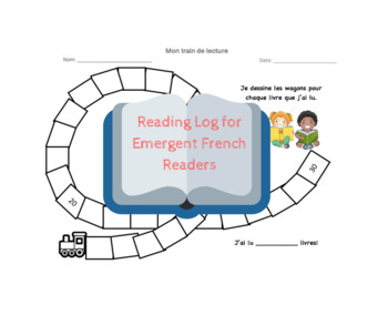 Train de lecture - Reading Train for French Emergent Readers