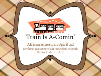 Train is A-Comin' - Song to practice Low La