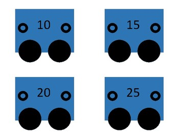 Skip Counting Train skip count by 5s and 10s (skip counting)