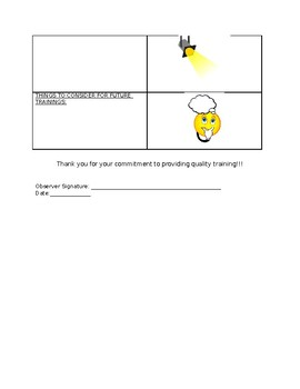 Train-the-Trainer Observation Feedback Form