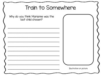 Train to Somewhere ~ 29 pages of Common Core Activities