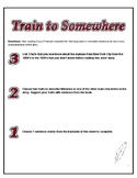Train to Somewhere - 3,2,1 Post Reading Activity
