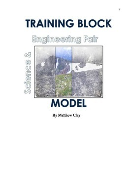 Training Block Science and Engineering Fair Model