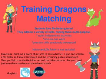 Training Dragons Matching