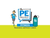 Fitness Training Methods Skill Cards - The PE Project