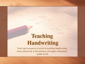 Training Module - Teaching Handwriting