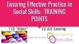 Training Points - Choosing Effective Practice BCBA ACE CE/Training