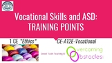 Training Points - Vocational Needs & ASD