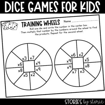 Multiplication Dice Game (Freebie)