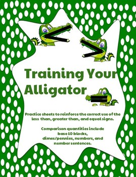 Training Your Alligator: Greater Than, Less Than, and Equal Signs < > =