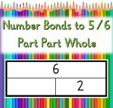 1-06: Step2a: Number Bonds to 5 and 6 - Part-Part-Whole wi