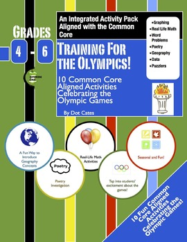Training for the Olympics! 10 Common Core Activities for Gr. 4-6