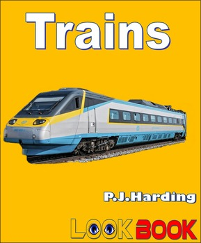 Trains. A LOOK BOOK Easy Reader