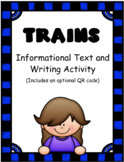 Trains: Informational Text and Writing Activity