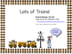 Trains Literacy/Activity Pack--Special Education and SLP