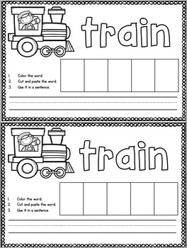 Trains Social Studies Unit
