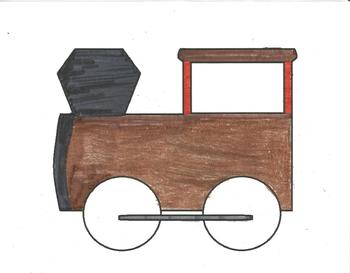 Trains for Bulletin Boards