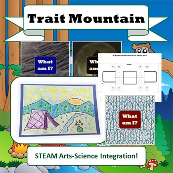 "NGSS Life Science ""Trait Mountain"" STEM Unit (Traits