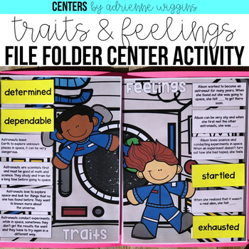 Traits & Feelings File Folder Center
