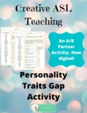 Traits Gap Activity