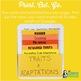 Traits and Adaptations Mini-Charts