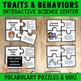 Inherited Traits and Learned Behaviors Vocabulary Puzzles