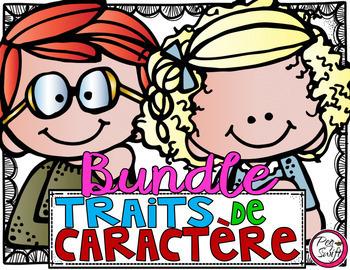 Character Education -Traits de caractère - BUNDLE