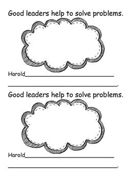 Traits of Good Leaders Mini Book