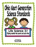 Traits of Living Things Tab Booklet (Ohio LS3.1)