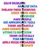 Math Poster - Traits of Mathematicians Classroom Decor Poster