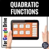 Traits of Quadratics Digital Card Sort for Distance Learning