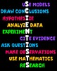 Science Poster - Traits of Scientists Classroom Decor Poster