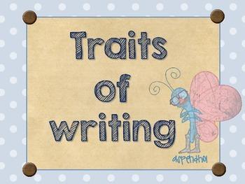 Traits of Writing