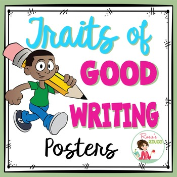 Traits of Writing Free Posters