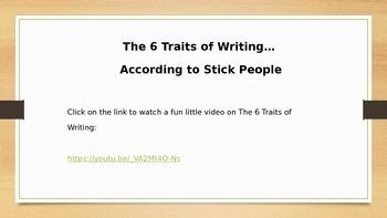 Traits of Writing: Ideas and Organization