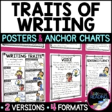 Traits of Writing Posters, Anchor Charts & Writer's Notebo