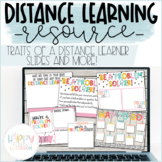 Traits of a Distance Learner   Back to School Lessons for
