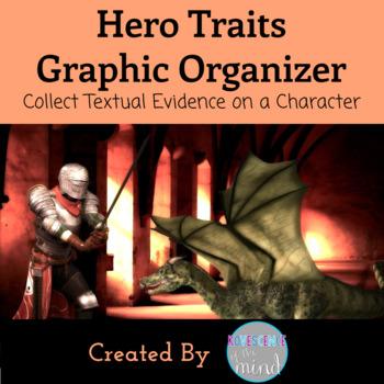 Traits of a Hero Graphic Organizer